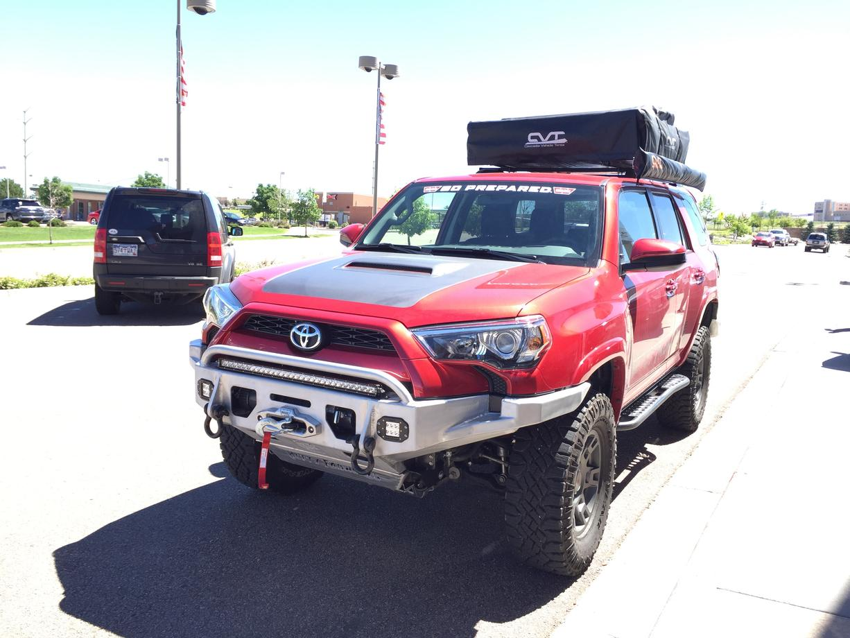 New 5th Gen Bumper 55lbs Toyota 4runner Forum Largest