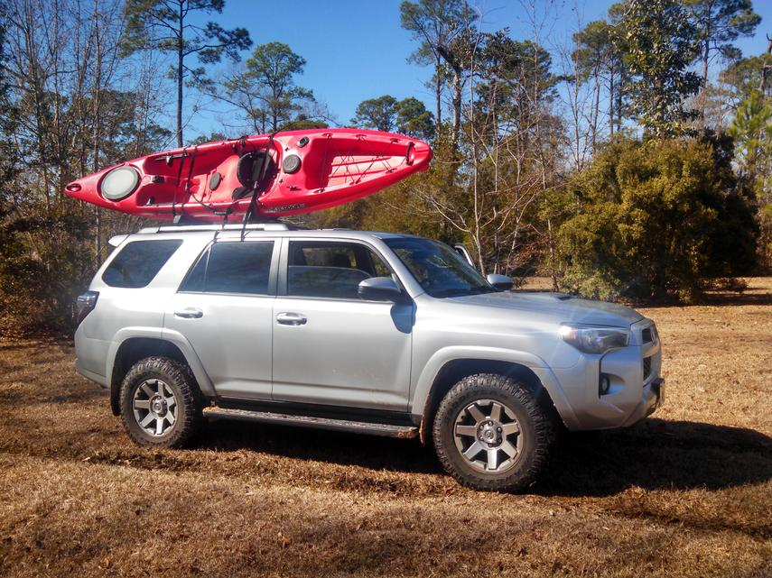long kayak mount question toyota 4runner forum largest. Black Bedroom Furniture Sets. Home Design Ideas