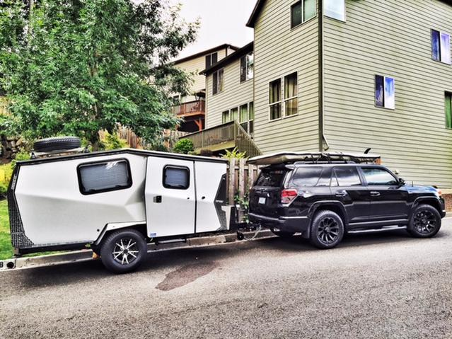 2015 Toyota 4 Runner Towing Trailers