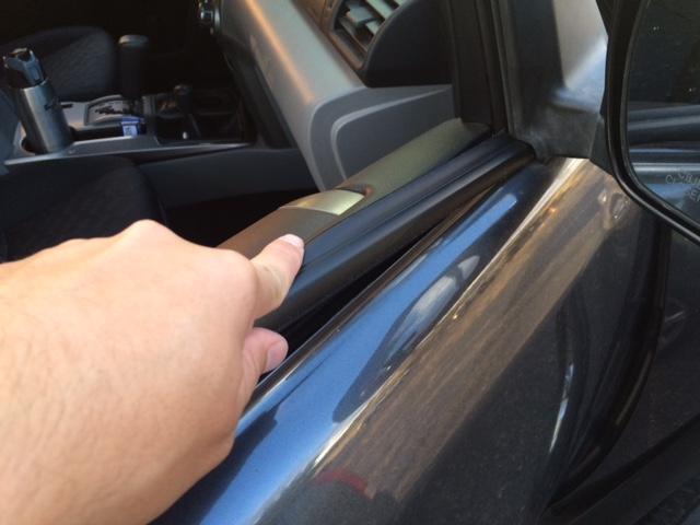 Window Weatherstripping Replacement Toyota 4runner Forum