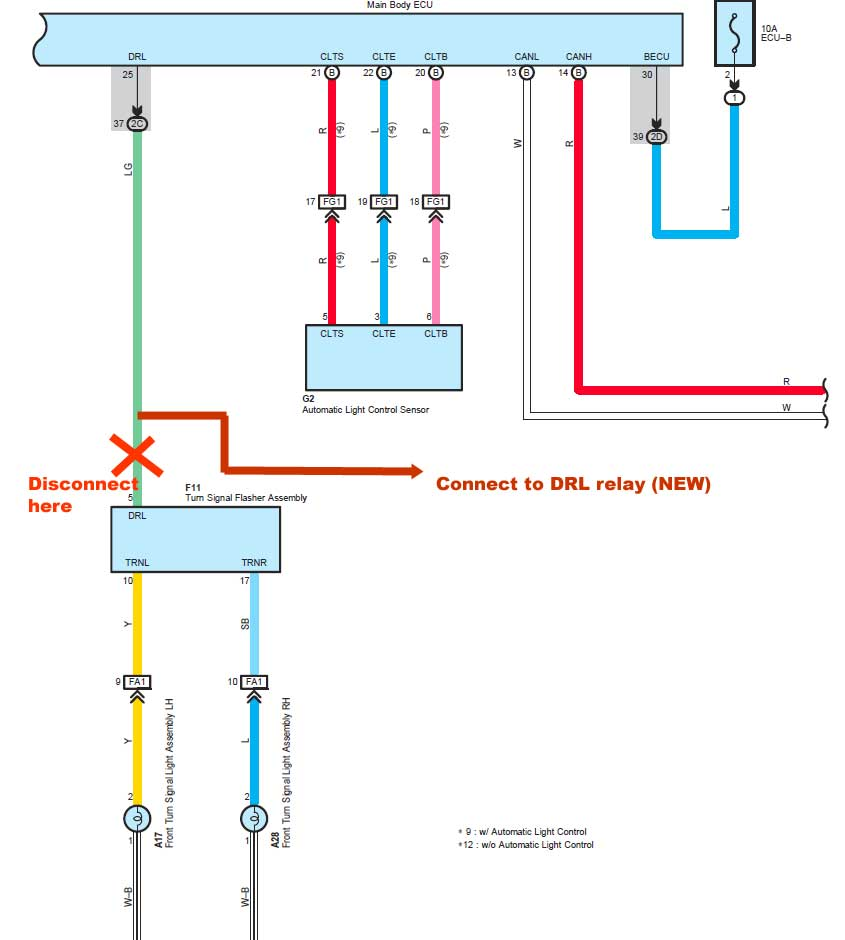 Wiring Diagram For Trailer Hookup In 2012 Sr5