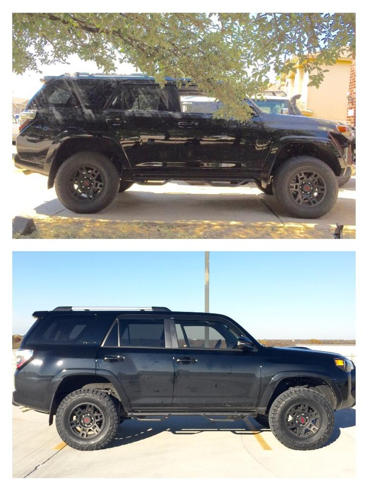 Ko2 275 70 Vs Stock 265 70 Toyota 4runner Forum