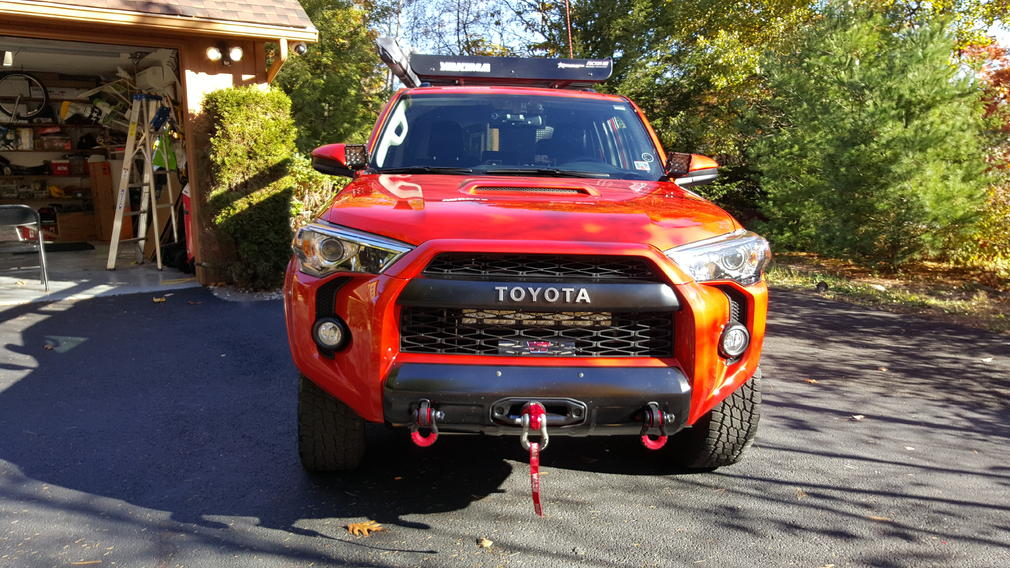 2014 2016 Behind Grill Light Bar Mounts Page 5 Toyota