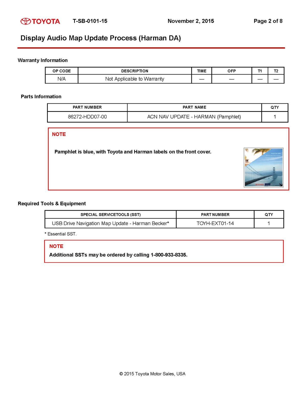 Nav System Updating - Page 3 - Toyota 4Runner Forum