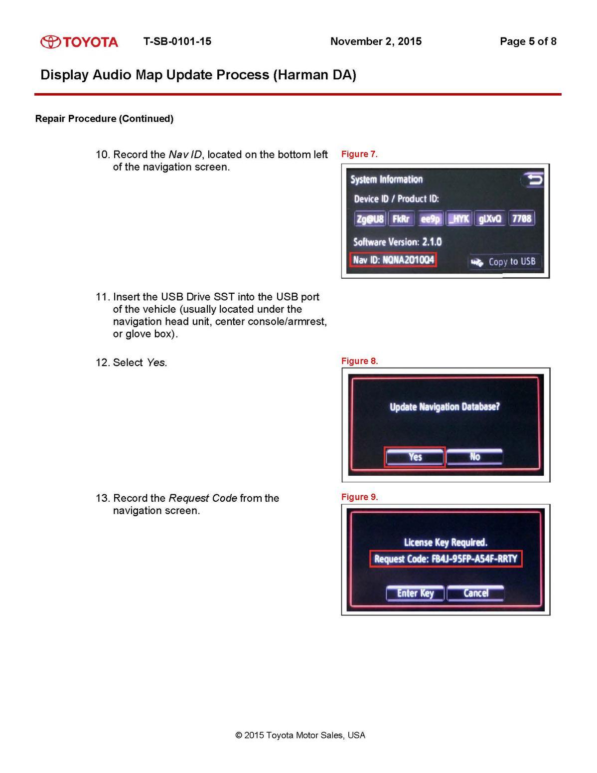 Toyota Map Updates Usa 4gb Sd Card With Car Igo Gps Navigation