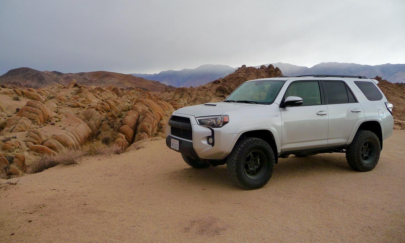 Calling All Silver 4runners With Black Or Trd Wheels