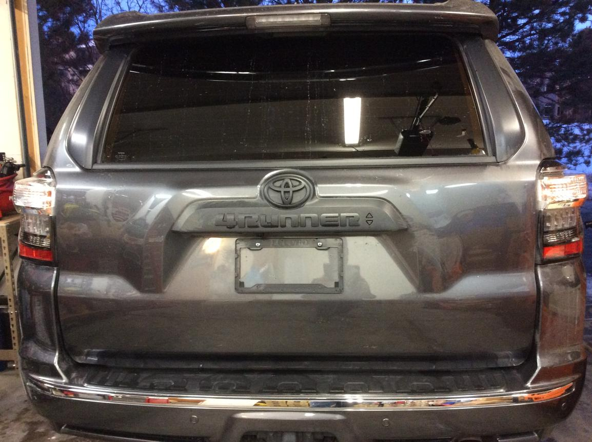 Anyone Blacked Out A New Limited Toyota 4runner Forum Largest