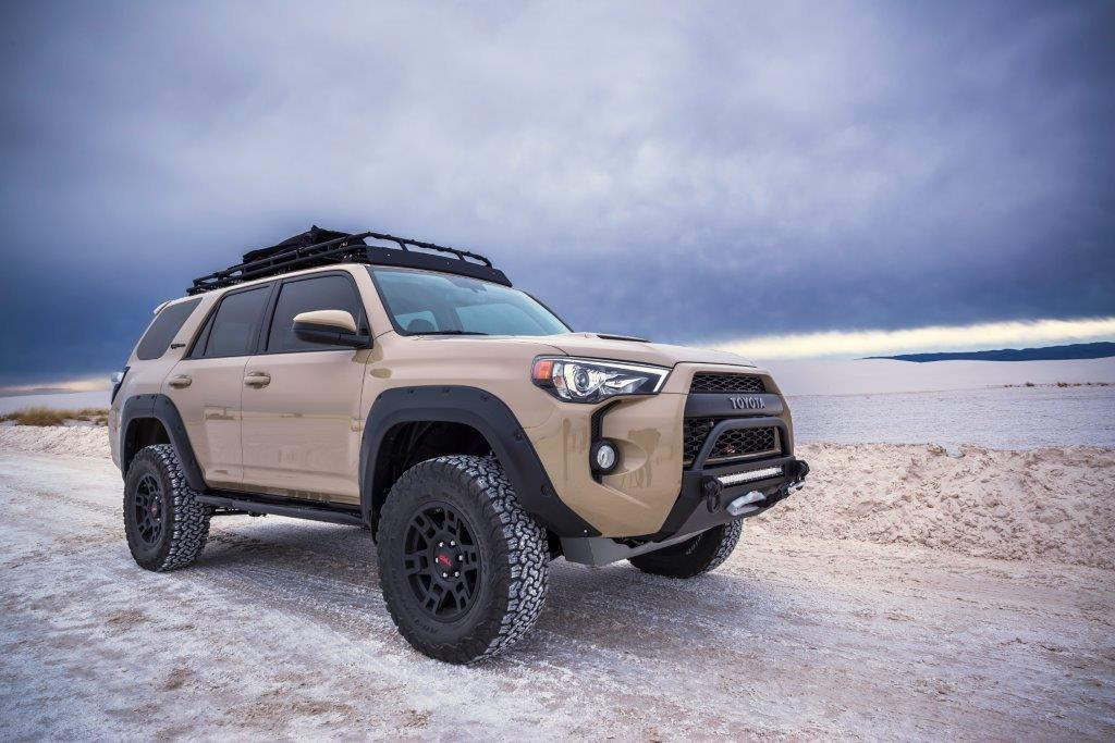 Quicksand Build And A Thank You To This Forum 4runner White Sandsunder