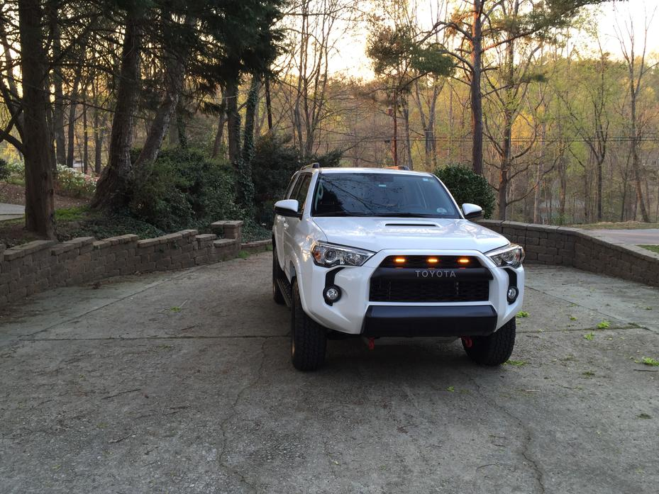 5th Gen Marker Lights in Grill - Page 3 - Toyota 4Runner ...
