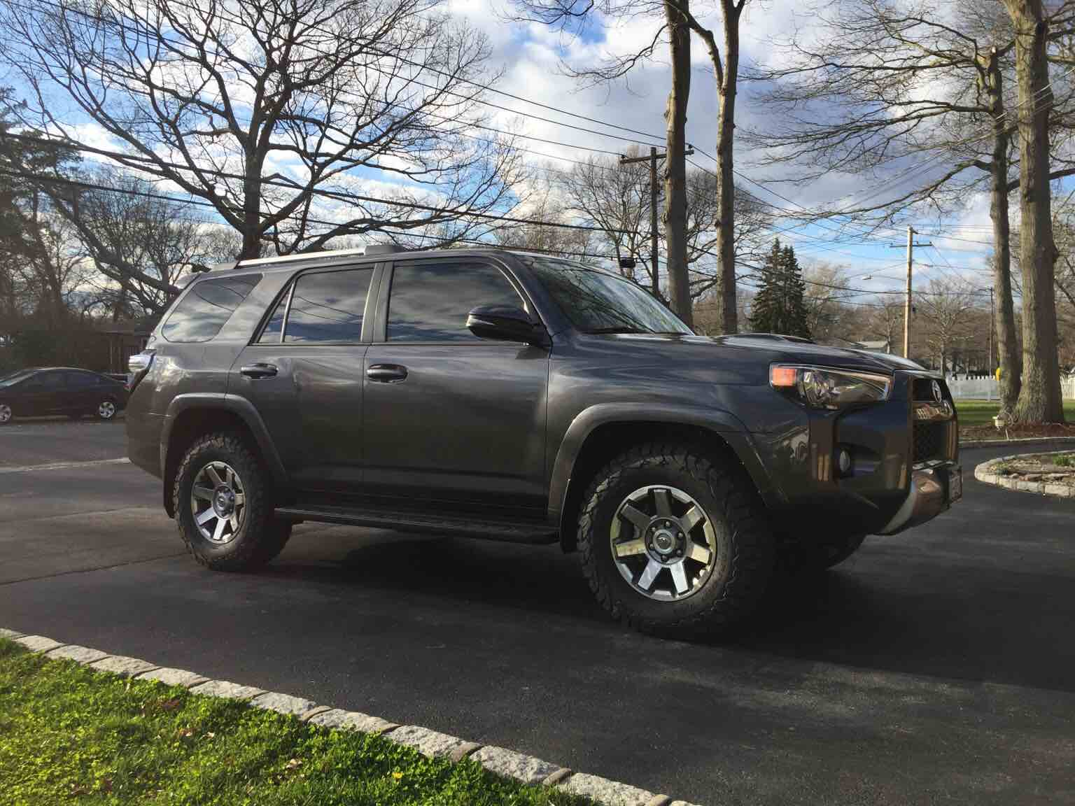Magnetic Grey 4runners Lets See Them Page 57 Toyota
