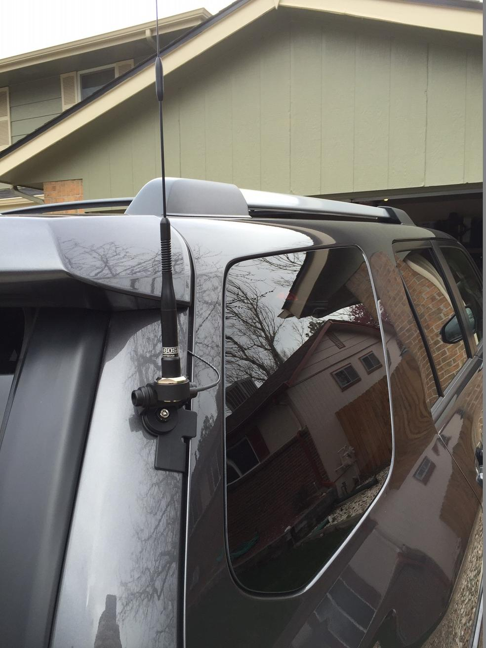 Pictures of my ham radio install - Toyota 4Runner Forum - Largest