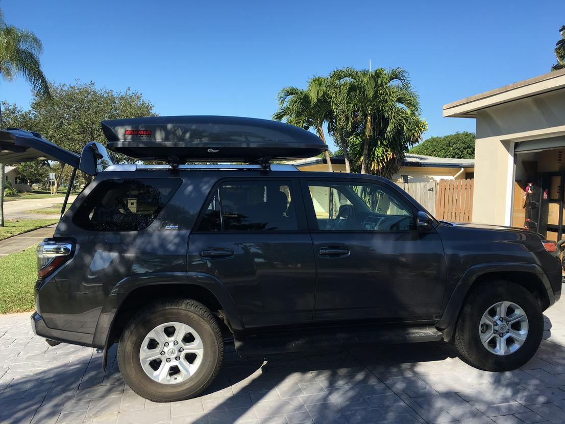 Are All 5th Gen Roofrack Crossbars The Same Toyota