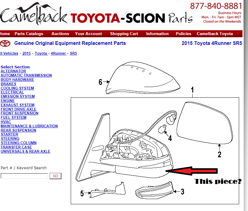 Toyota 4runner Parts Diagram Plastic Trusted Wiring Diagrams