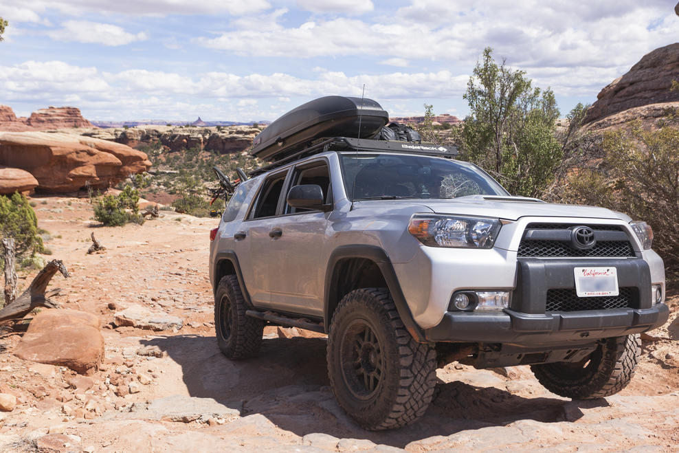 Photos Of Rooftop Cargo Boxes Page 5 Toyota 4runner Forum Largest 4runner Forum
