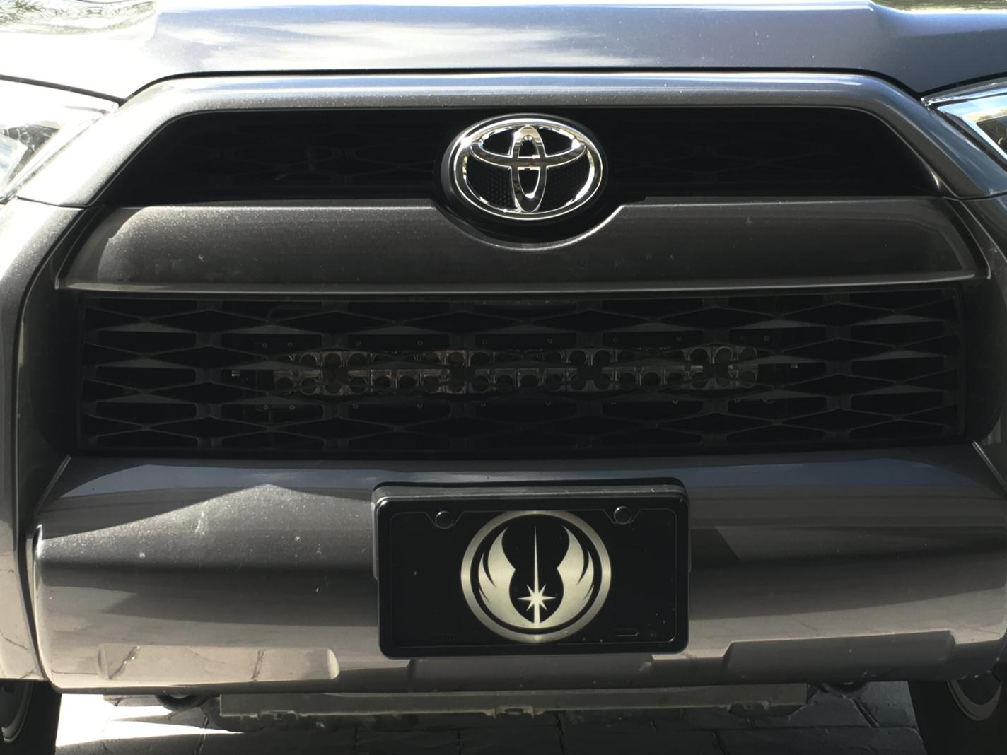 If I Can Do It You Behind Grill Light Bar Install Toyota Need Some Help With Hella Lights Wiring 4runner Forum Quotif Canquot