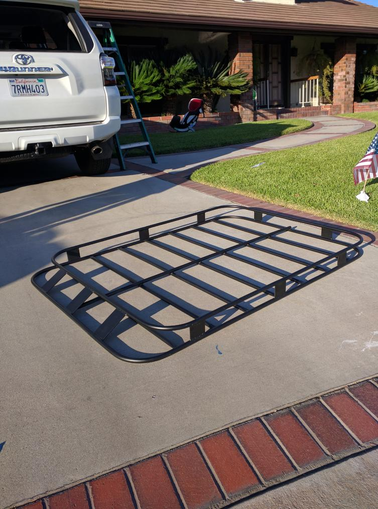Roof Rack That Mounts To Factory Rails Page 4 Toyota
