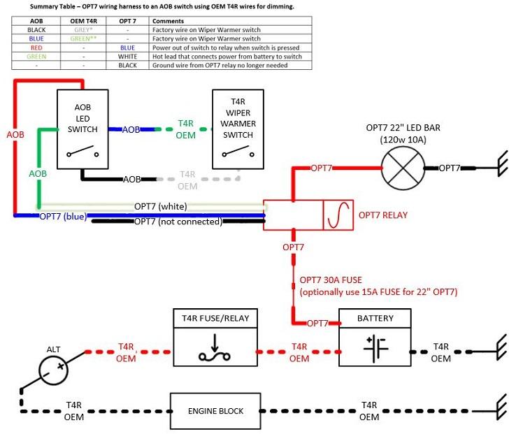 opt7 led switch wiring diagram wiring diagram LED Transistor Switch opt7 led switch wiring diagram