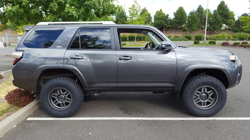 Magnetic Grey 4runners Lets See Them Page 72 Toyota