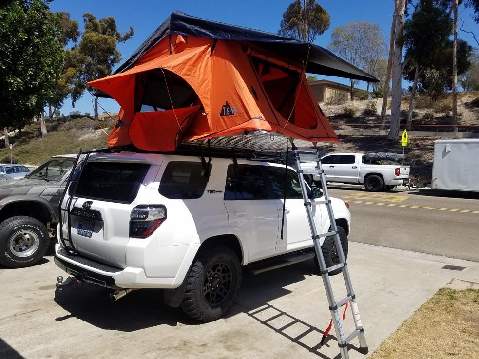 Diy Gobi Stealth Roof Rack Ladder Install Page 9