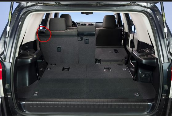 how to fold down second row seats in 2015 toyota 4runner. Black Bedroom Furniture Sets. Home Design Ideas
