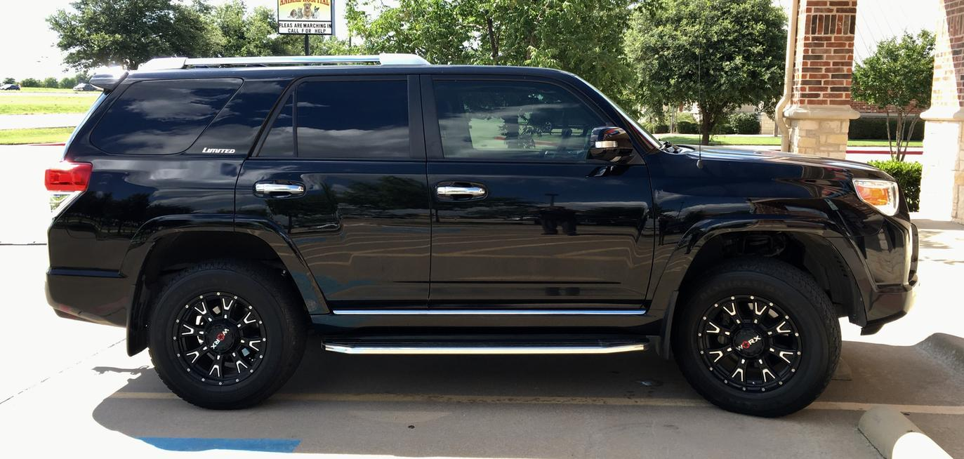 20 inch wheels on limited page 40 toyota 4runner forum. Black Bedroom Furniture Sets. Home Design Ideas