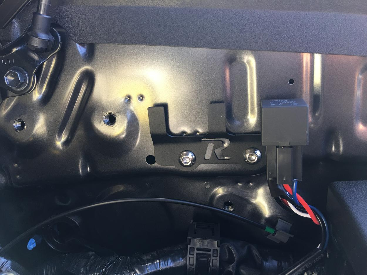 cali raised led light bar bracket behind grille review page 2