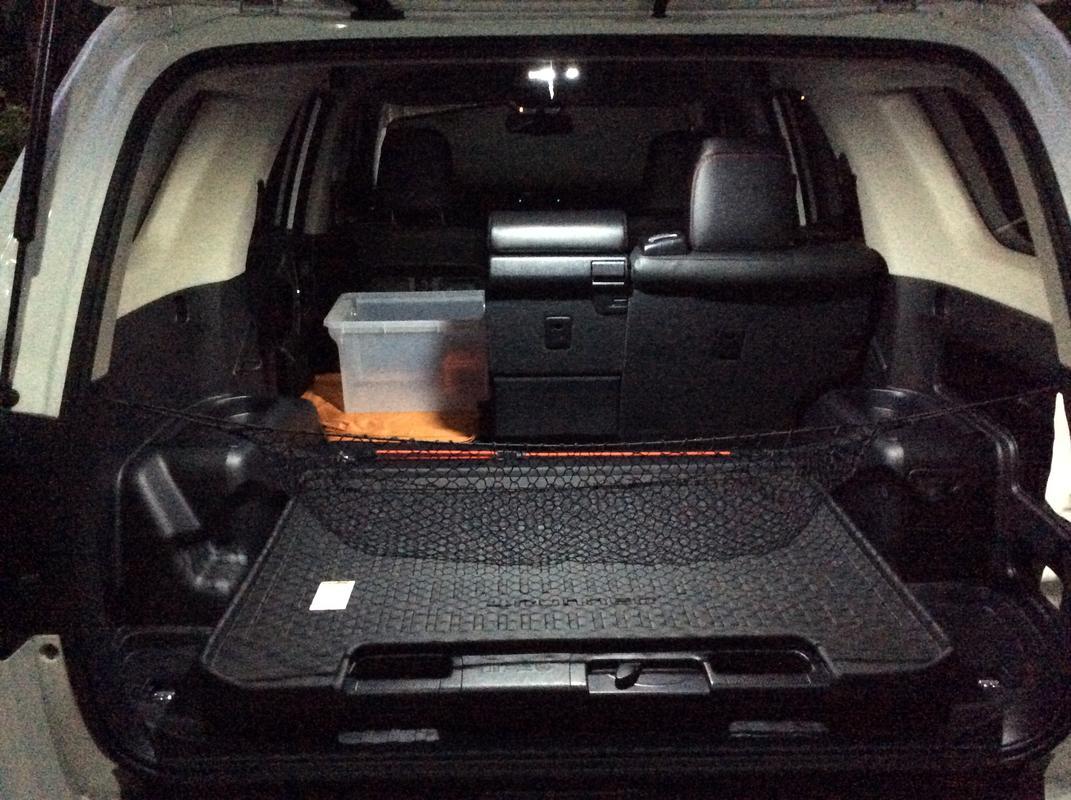 Cargo area coat hook mods - Page 2 - Toyota 4Runner Forum