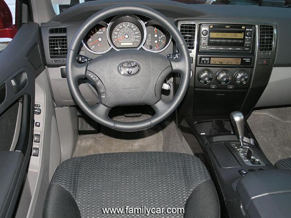 2004 Toyota 4runner Interior Pictures