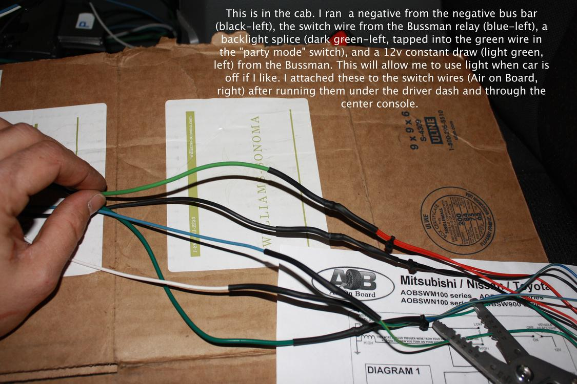 4 Rigid Lights One Switch Shrockworks Relay Distribution Install Wiring To Diagram Attached 1405 Kb