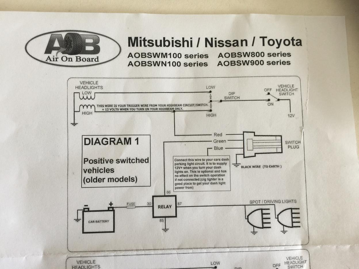 Aob Switch Wiring Question Toyota 4runner Forum Largest Diagrams For Lighting Circuits Attached Img 0719 1303 Kb