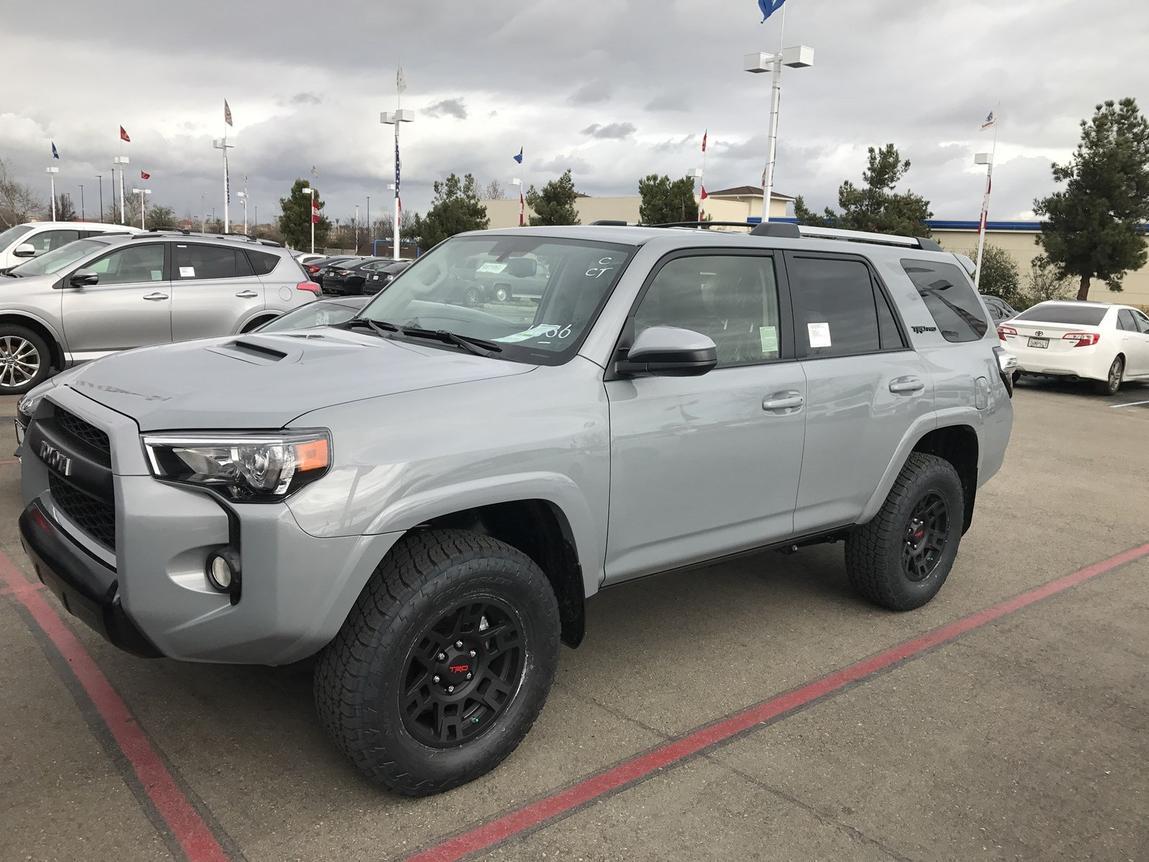 Toyota 4runner Flat Grey