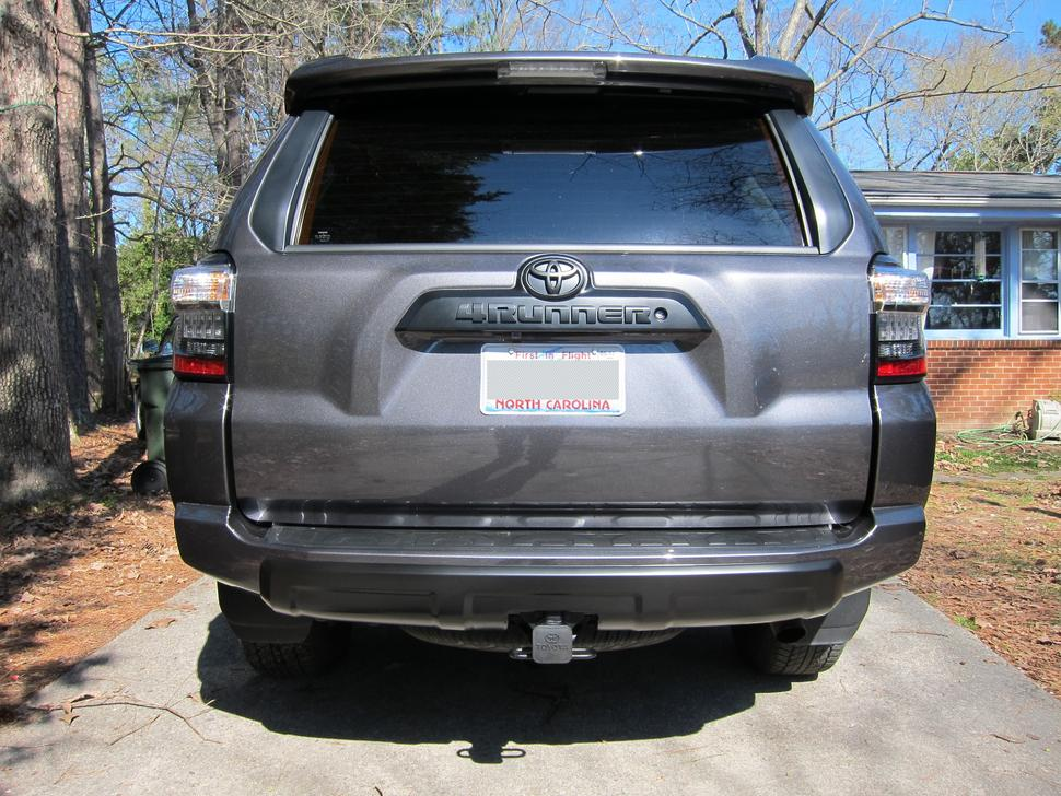 2014 Trail Silver Bumper Accent Removed Page 4 Toyota 4runner Forum Largest 4runner Forum