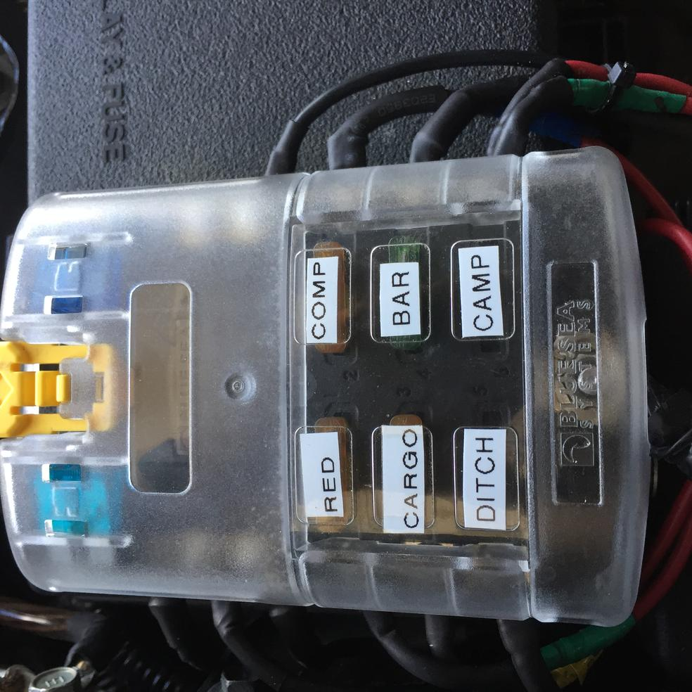 2008 toyota 4 runner fuse box mounting acc fuse box on top of fuse box - toyota 4runner ...