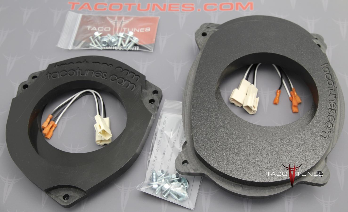 The Sweeter Tweeter Install Solution For 5th Generation 4runner Toyota Tacoma Wire Harness Heavy Duty Speaker Mount 6 5 Front Rear Door Kit Picture 1305 Kb