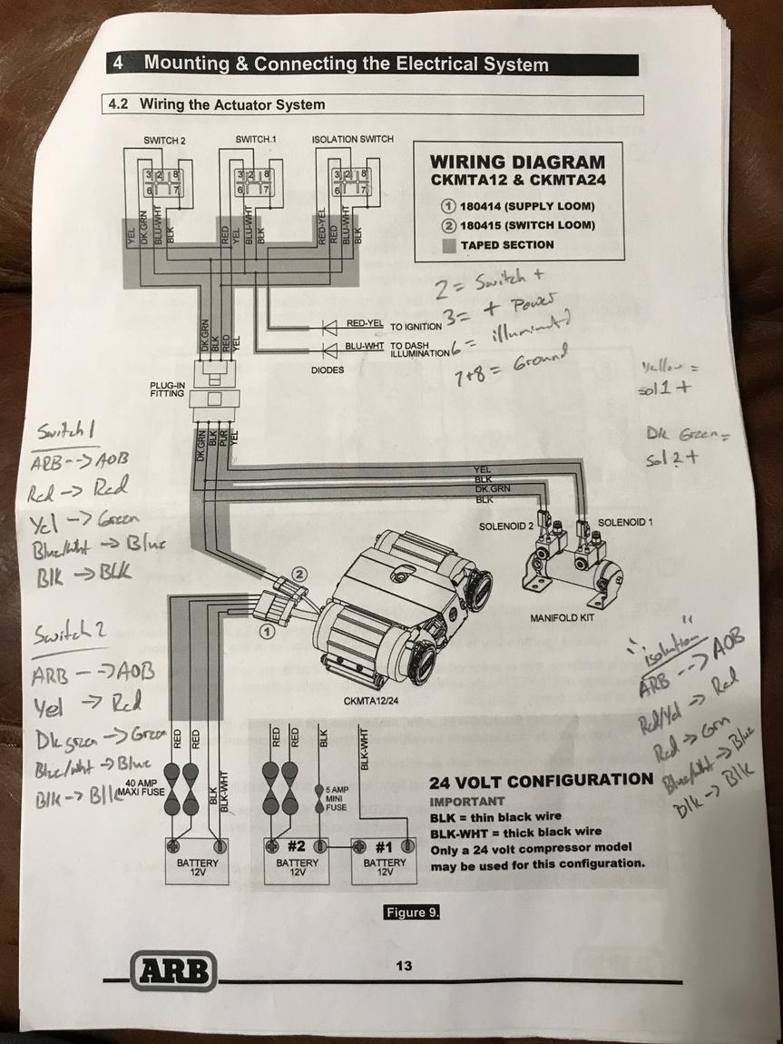 ARB compressor/ AOB switch install - Page 2 - Toyota 4Runner ... on