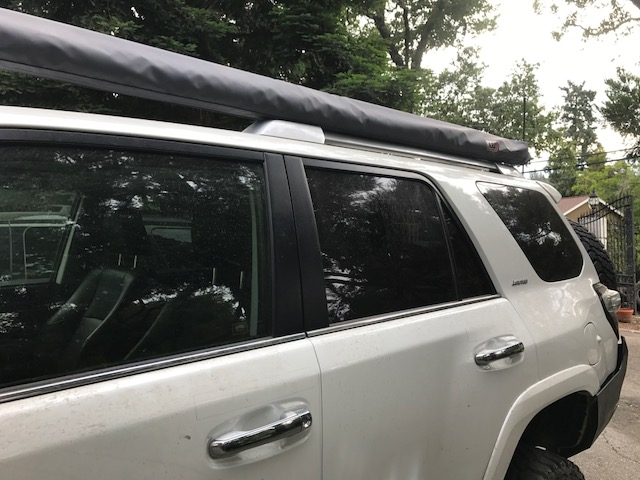 Arb Style Awning On Oem Roof Rails Page 5 Toyota