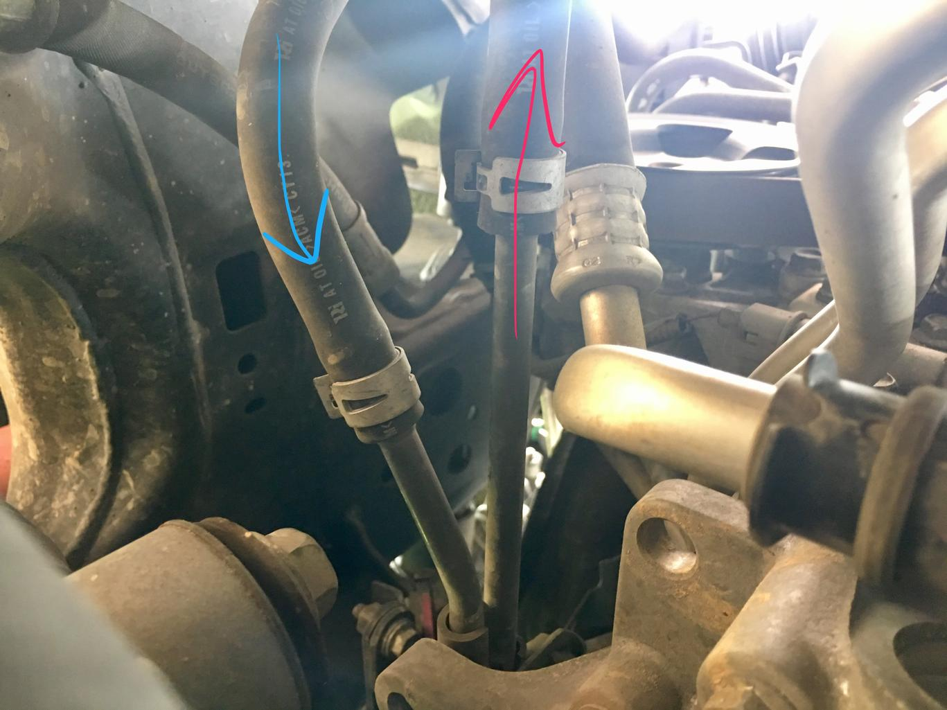 Transmission Cooler Page 10 Toyota 4runner Forum Largest Trailer Tow Wiring W 4 Pin Connector Oil Attached Img 3561 1371 Kb 3559 1233