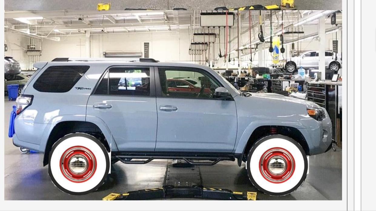 4runner Trd Pro White >> White Letters or Black Wall tires on TRD Pro Cement. - Page 2 - Toyota 4Runner Forum - Largest ...