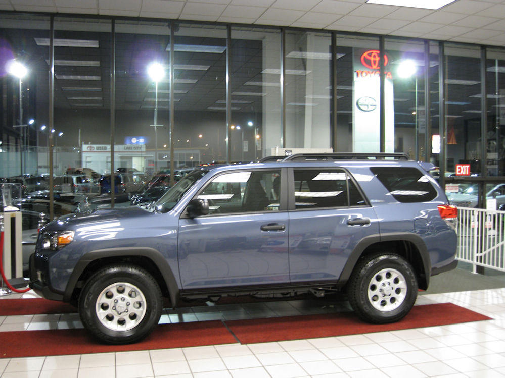 Trail Edition In Shoreline Blue Pearl Toyota 4runner