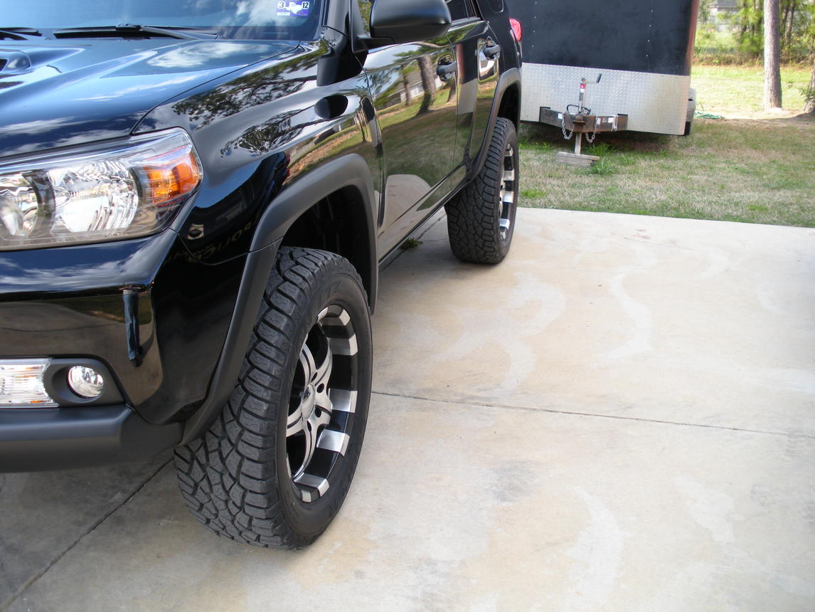 Lake Charles Toyota >> spidertrax spacers/installed pics - Toyota 4Runner Forum ...