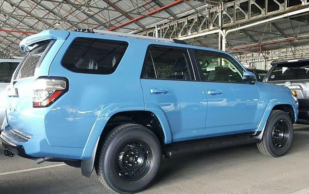Cavalry Blue 2018 Trd Pro Sighted Toyota 4runner Forum