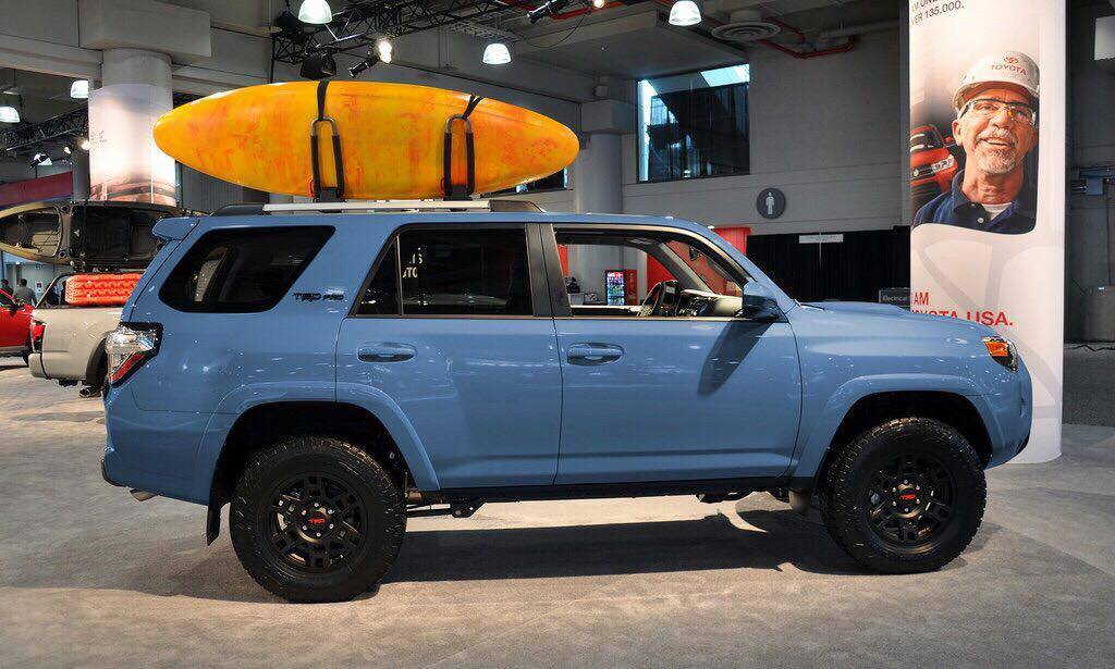 Cavalry Blue 2018 Trd Pro Sighted Toyota 4runner Forum Largest 4runner Forum