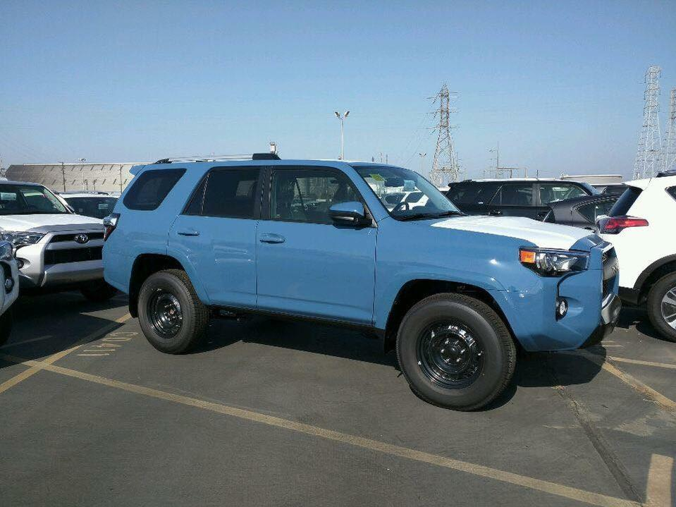 cavalry blue 2018 trd pro sighted page 7 toyota 4runner forum largest 4runner forum. Black Bedroom Furniture Sets. Home Design Ideas