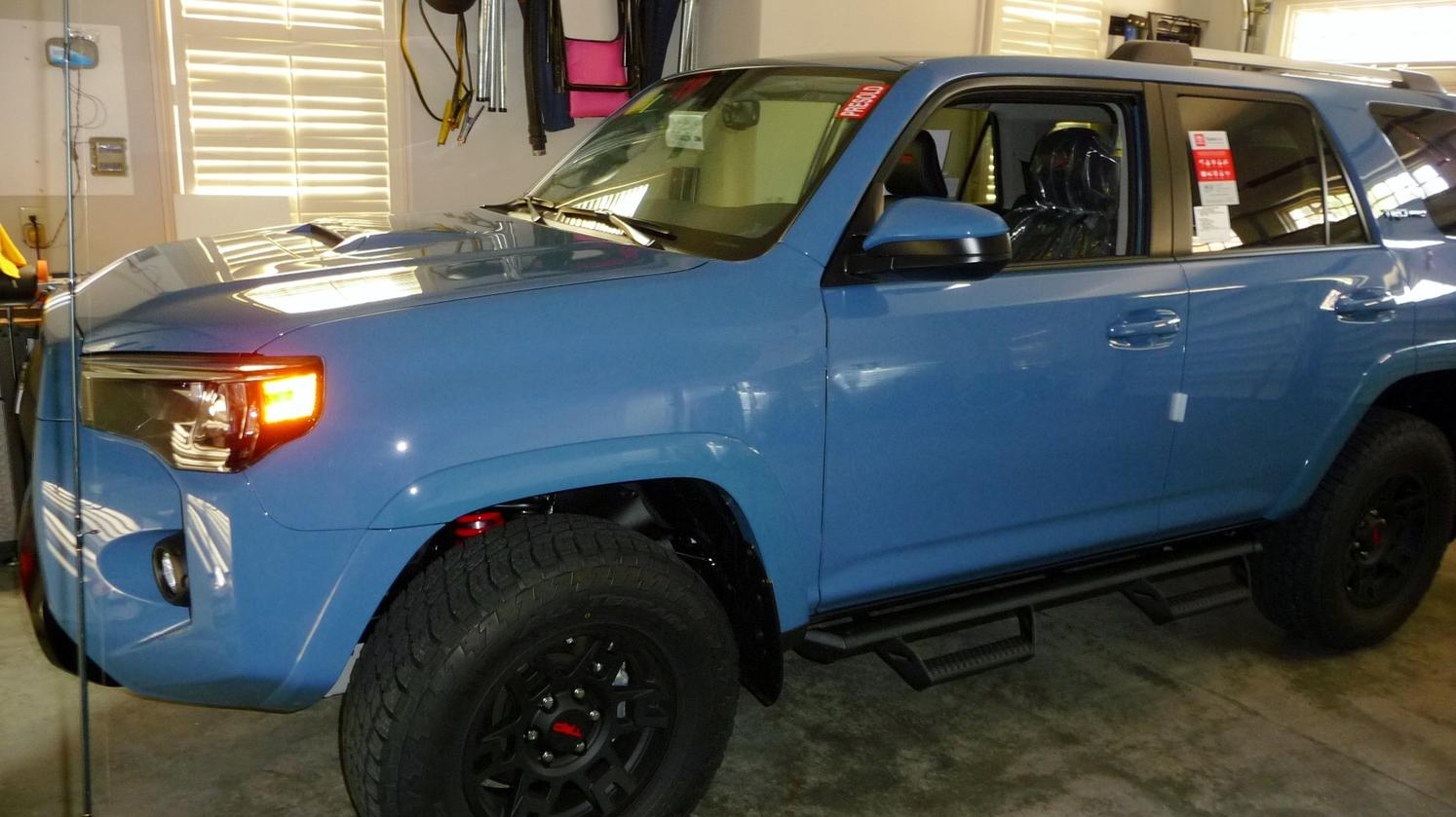 cavalry blue 2018 trd pro sighted page 17 toyota 4runner forum largest 4runner forum. Black Bedroom Furniture Sets. Home Design Ideas