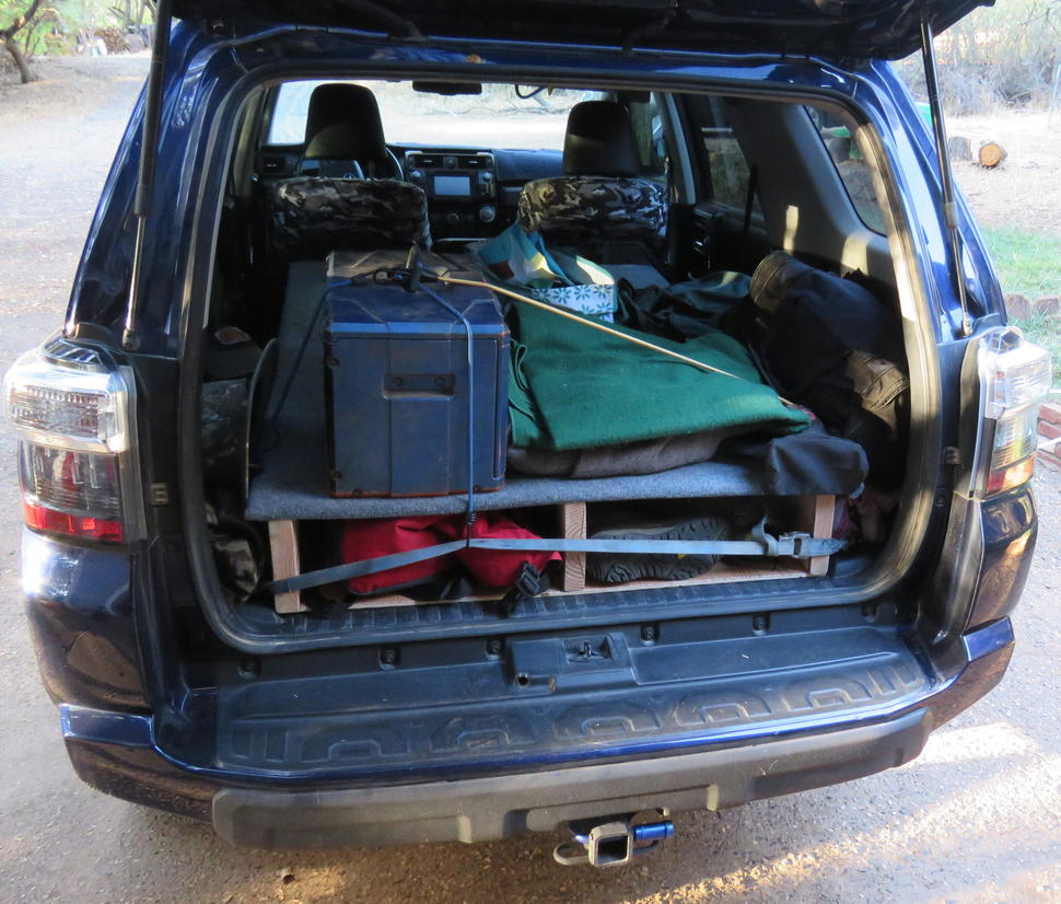 Anyone Have A Camping Sleeping Setup Inside Of The 4runner Toyota 4runner Forum Largest 4runner Forum