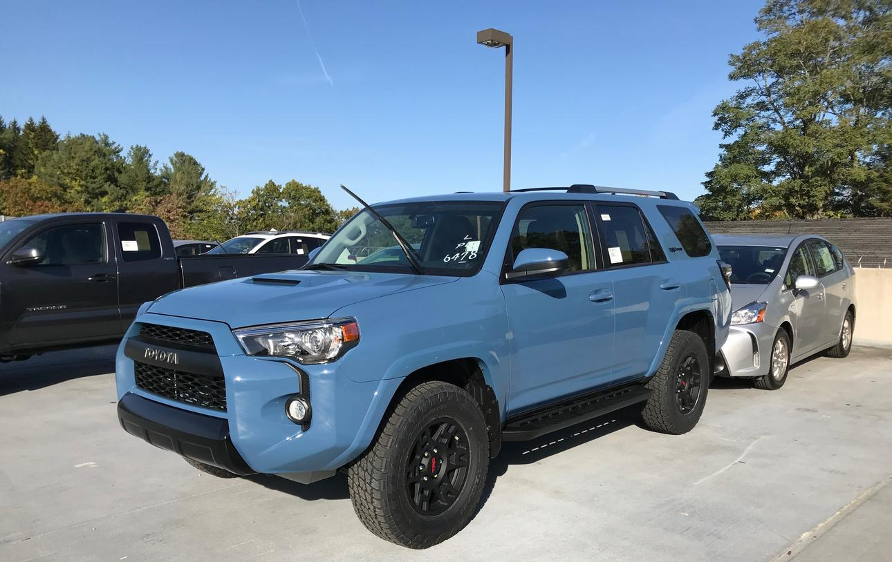 Cavalry Blue 2018 Trd Pro Sighted Page 27 Toyota
