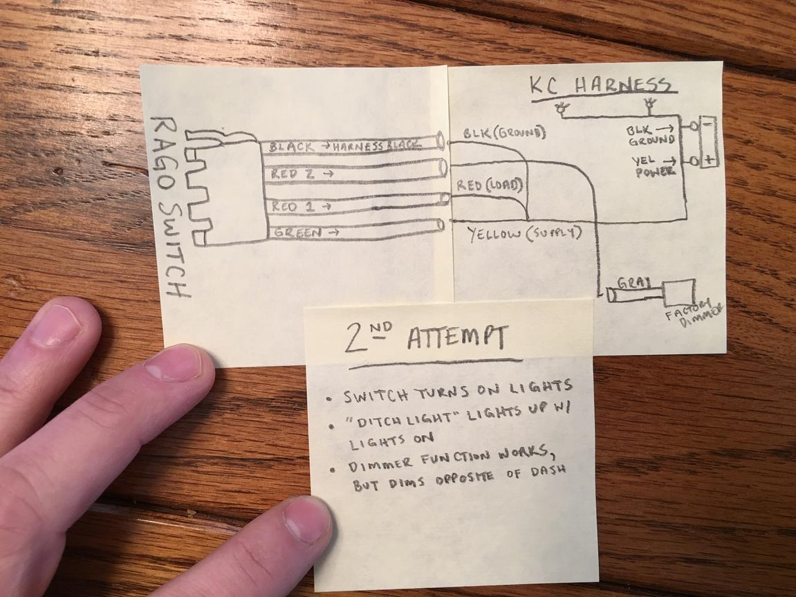 Rago Toyota Switch W Kc Ditch Light Issues 4runner Witch Wiring Diagram Attached