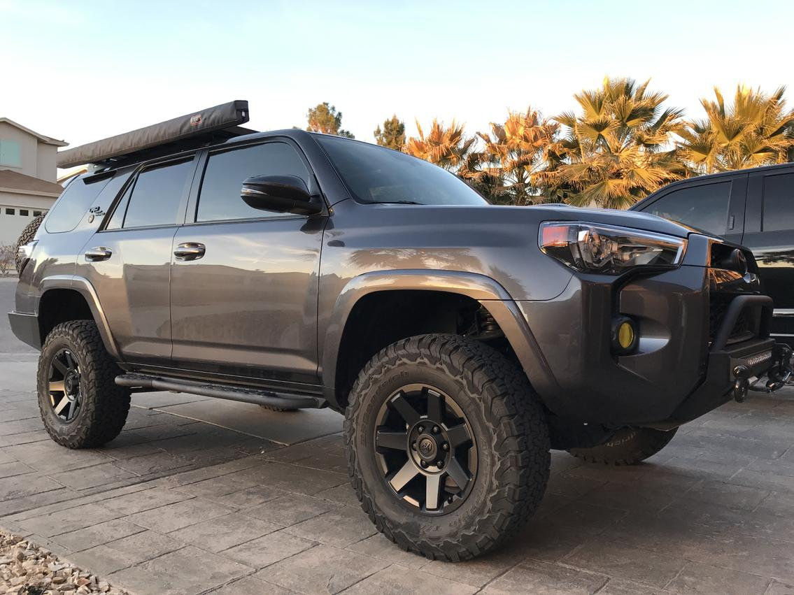 Any Pics Of 18 Trdorp Stock Rims Blacked Out Toyota 4runner Forum Largest 4runner Forum