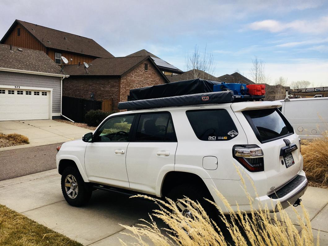 Rhino-Rack Install Write Up - Page 3 - Toyota 4Runner Forum