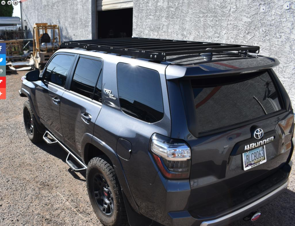 Rpm Fabrication Aluminum Roof Rack Toyota 4runner Forum Largest 4runner Forum